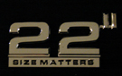 22 logo ~ the Ominous Comma