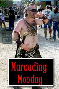 Marauding Monday ~ the Ominous Comma