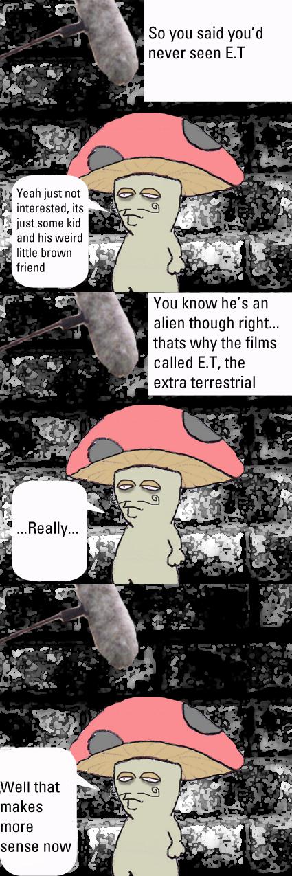 Jeremy on E.T.