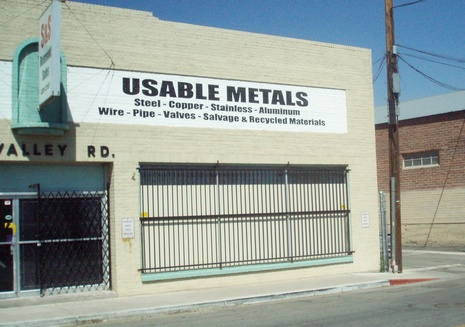 Useable Metals