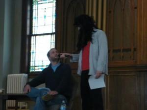 Brent Diggs imitates a certain Lifelink pastor